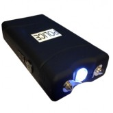 POLICE 25,000,000 Mini Stun Gun - Rechargeable With LED Flashlight, BLACK