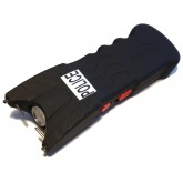 POLICE 30,500,000 Stun Gun With Flashlight Rechargeable BLACK