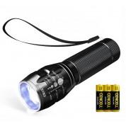 NAVIGATOR 1193 Adjustable Focus Mini Zoomable CREE LED Flashlight Torch