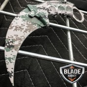 CSGO KARAMBIT HAWKBILL CLAW LIMITED EDITION MILITARY CAMO FIXED BLADE KNIFE
