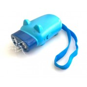 AngryPig Blue - 999,000,000 Mini Stun Gun Rechargeable With LED Flashlight