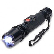 POLICE 305- 230,000,000 Light and Durable Stun Gun With Safety Cap and LED Flashlight, Rechargeable