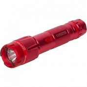 VIPERTEK VTS-T03 - 230,000,000 Heavy Duty Cheap Quality Stun Gun - Rechargeable with LED Tactical Flashlight, Red