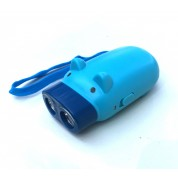 Angry Pig 230,000,000 Stun Gun Rechargeable With LED Flashlight (Blue)