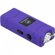 VIPERTEK VTS-881 - 38,000,000 V Micro Stun Gun - Rechargeable with LED Flashlight, Purple