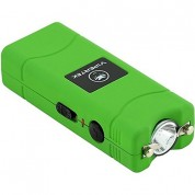 VIPERTEK VTS-881 - 38,000,000 V Micro Stun Gun - Rechargeable with LED Flashlight, Green