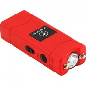 VIPERTEK VTS-881 - 38,000,000 V Micro Cheap Quality Stun Gun - Rechargeable with LED Flashlight, Red