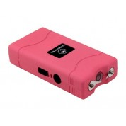 VIPERTEK VTS-880 - 35,000,000 V Mini Cheap Quality Stun Gun - Rechargeable with LED Flashlight, Pink