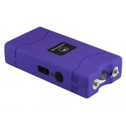 VIPERTEK VTS-880 - 35,000,000 V Mini Cheap Quality Stun Gun - Rechargeable with LED Flashlight, Purple