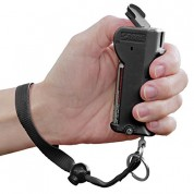 SABRE RED Stop Strap Pepper Spray - Deactivation Technology with Key Case BLACK
