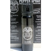 POLICE MAGNUM OC-17 MACE PEPPER SPRAY 4oz FLIP TOP & NYLON HOLSTER w/BELT LOOP