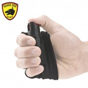 Guard Dog Security Pepper Spray - Runner/Jogger InstaFire Activewear Hand Sleeve BLACK