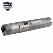 Police Force 9,200,000 Tactical Stun Flashlight Grey