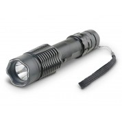POLICE A2 - EXTREME VOLTAGE - Metal Heavy Duty Stun Gun With LED Flashlight, Rechargeable