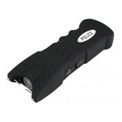 Police 230,000,000 V Stun Gun - Rechargeable with Safety Disable Pin & LED Flashlight (BLACK)