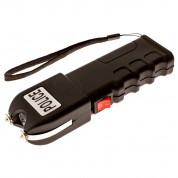 Police 928 - 999,000,000 Extreme Voltage - Grab Guard Heavy Duty Stun Gun - Rechargeable With LED Flashlight and Case