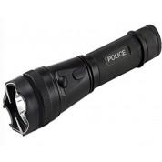POLICE 230,000,000 Compact Metal Flashlight Stun Gun Rechargeable