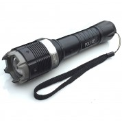 POLICE 230,000,000 Zoomable Super LED Flashlight Stun Gun Rechargeable