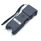 Police 230,000,000 Super Duty Stun Gun Rechargeable With Police Siren & Led Flashlight