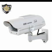 Dummy Camera in Outdoor Housing W Solar Powered Light