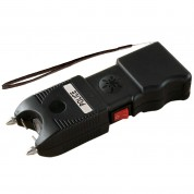 POLICE TW_10 - 999,000,000 Heavy Duty Stun Gun Rechargeable With LED Flashlight & Ear-Piercing Police Siren Alarm