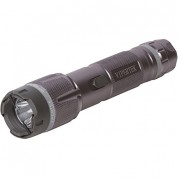 VIPERTEK VTS-T03 - 230,000,000 Heavy Duty Cheap Quality Stun Gun - Rechargeable with LED Tactical Flashlight, Gunmetal Gray