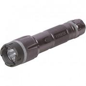 VIPERTEK VTS-T03 - Heavy Duty Cheap Quality Stun Gun - Rechargeable with LED Tactical Flashlight, Gunmetal Gray