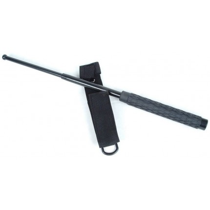 26 Inch-Self Defense Stick W/ Case and SKULL KEYCHAIN- ninja martial art protection
