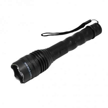 POLICE 230,000,000 Tactical Flashlight Stun Gun Rechargeable- Wholesale Lot 50 pcs